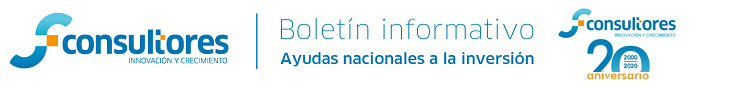 boletin informativo de ayudas nacionales a la inversion sfconsultores